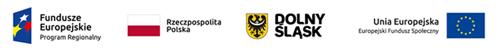 Loga: Fundusze Europejskie, Rzeczpospolita Polska, Dolny Śląsk, Unia Europejska